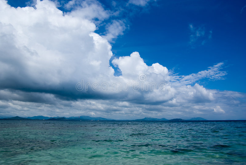 Wolke im Himmel lizenzfreies stockfoto