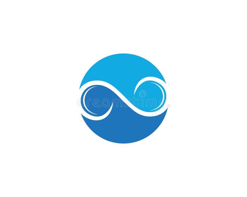 Wolke Logo Template Design Icons Vector vektor abbildung