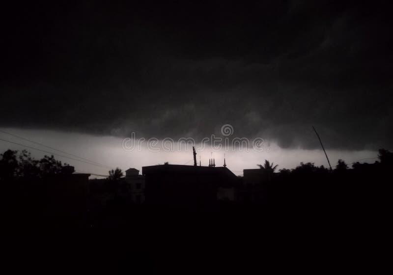 Wolke pics von der Dachspitze lizenzfreie stockfotografie