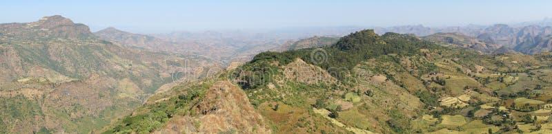 Wolkefit passerande, Etiopien, Afrika royaltyfria foton