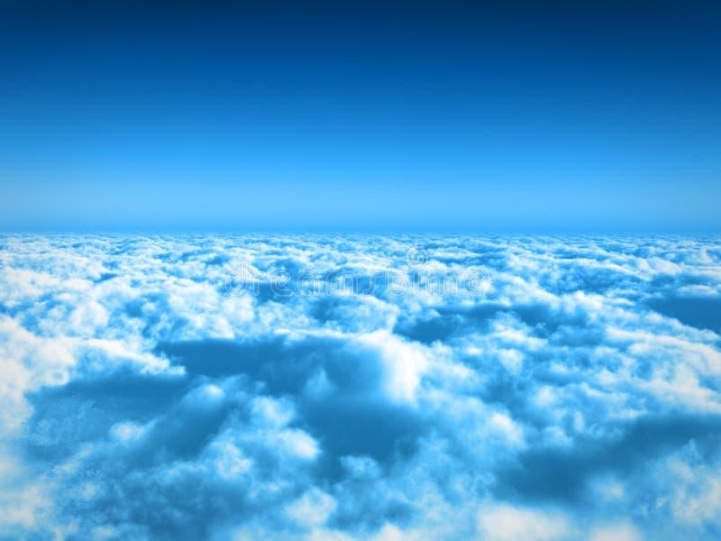 Wolken stock abbildung