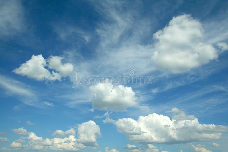 Wolken royalty-vrije stock foto's