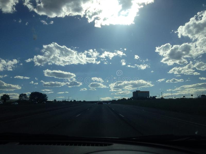 Wolken stock foto