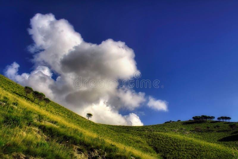 Wolken-Angriff Stockfotos