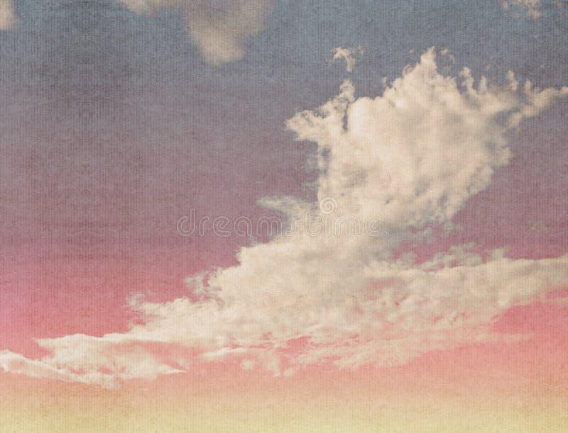 Wolken auf einem strukturierten lizenzfreie stockbilder