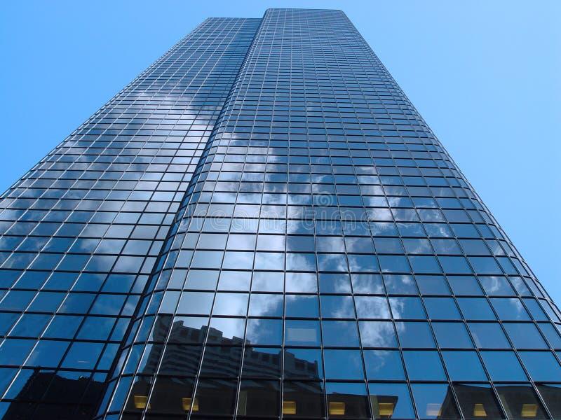 Wolken de van de binnenstad van Boston royalty-vrije stock foto's