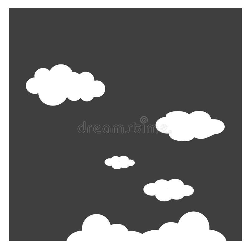 Wolken - in der Meteorologie, ist eine Wolke ein Aerosol, das aus einer sichtbaren Masse von winzigen flüssigen Tröpfchen besteht lizenzfreie abbildung