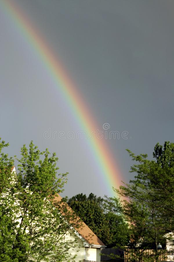 Wolken der Regenbogen-SS151 stockbild