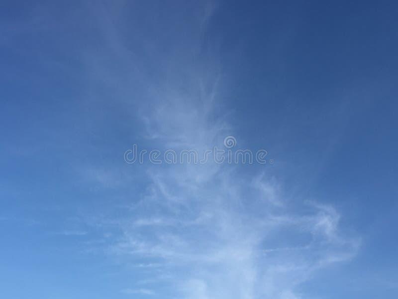 Wolken en hemelen stock foto's