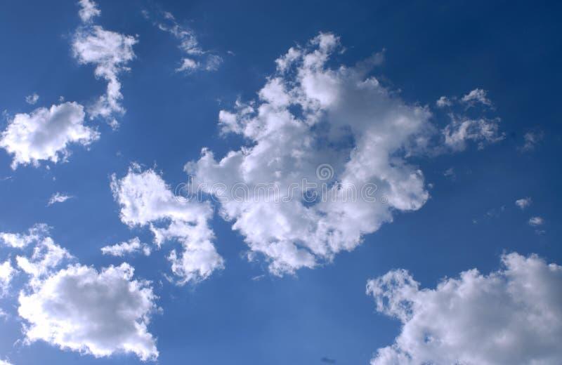 Wolken in Italië royalty-vrije stock afbeelding