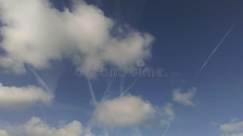 Wolken-Künste lizenzfreies stockfoto