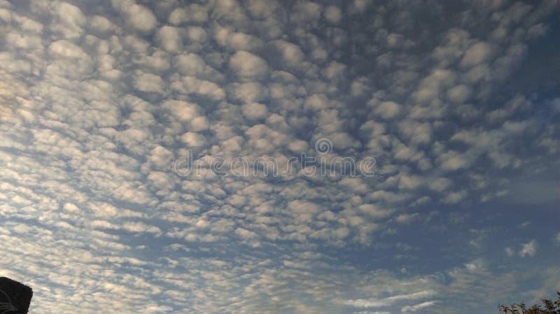 Wolken-Kunst lizenzfreies stockbild