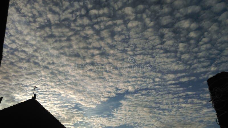 Wolken-Kunst lizenzfreie stockfotos