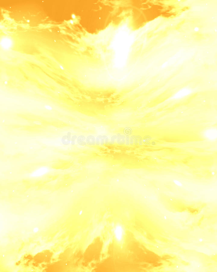 Wolken met zonlicht