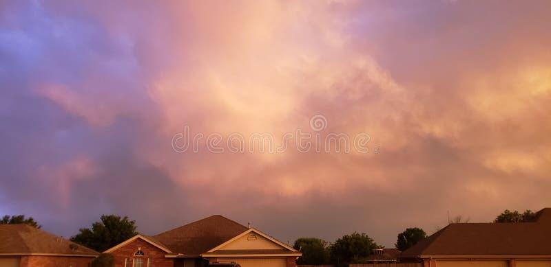 Wolken lizenzfreie stockfotografie