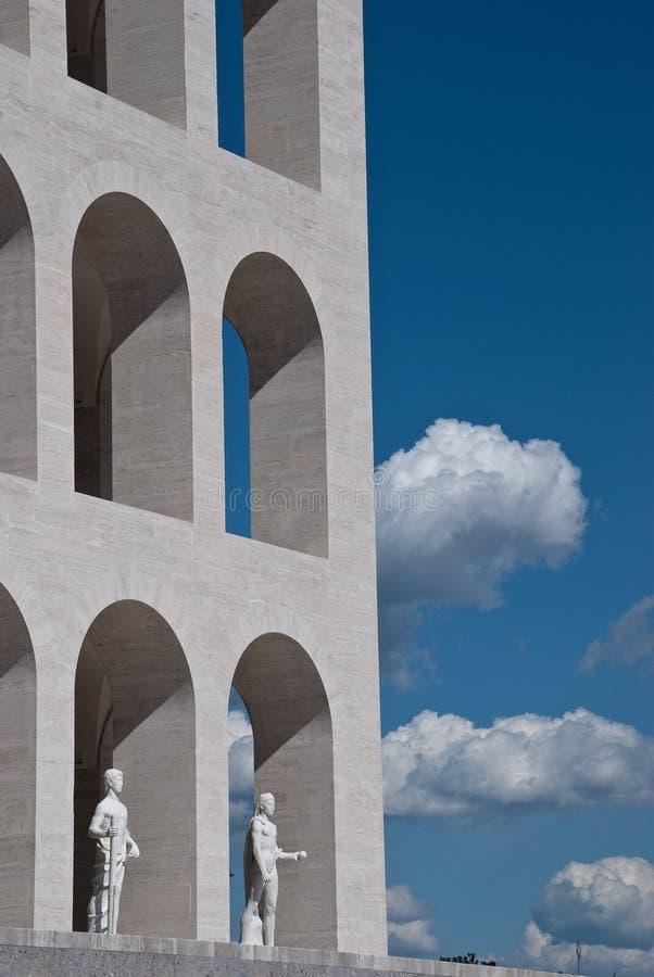 Wolken und Bögen lizenzfreies stockbild