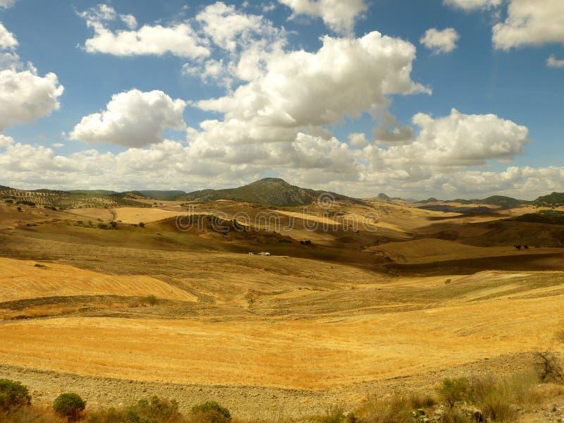 Wolken van Andalusia 1 stock foto's