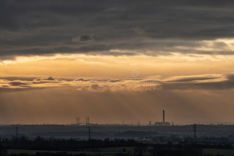 Wolkenbildungen von Langdon Hills 1 stockfotos