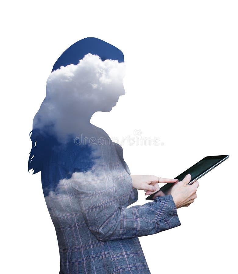 Wolkendatenverarbeitung stockfotos