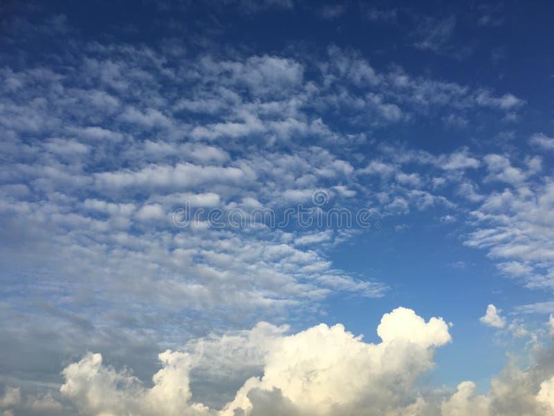 Wolkengolf royalty-vrije stock foto