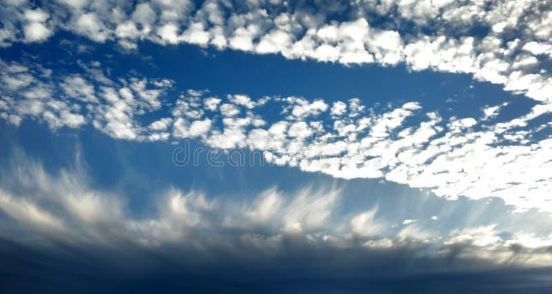 Wolkengolven 2 royalty-vrije stock foto