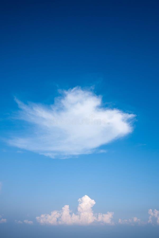 Wolkenhemel Thailand royalty-vrije stock fotografie