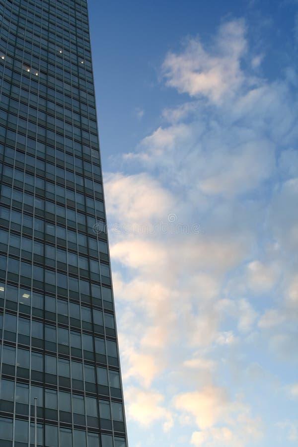 Wolkenkrabber royalty-vrije stock afbeeldingen