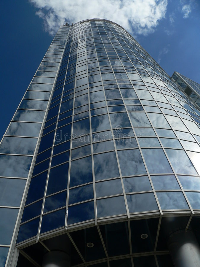 Wolkenkrabber royalty-vrije stock afbeelding