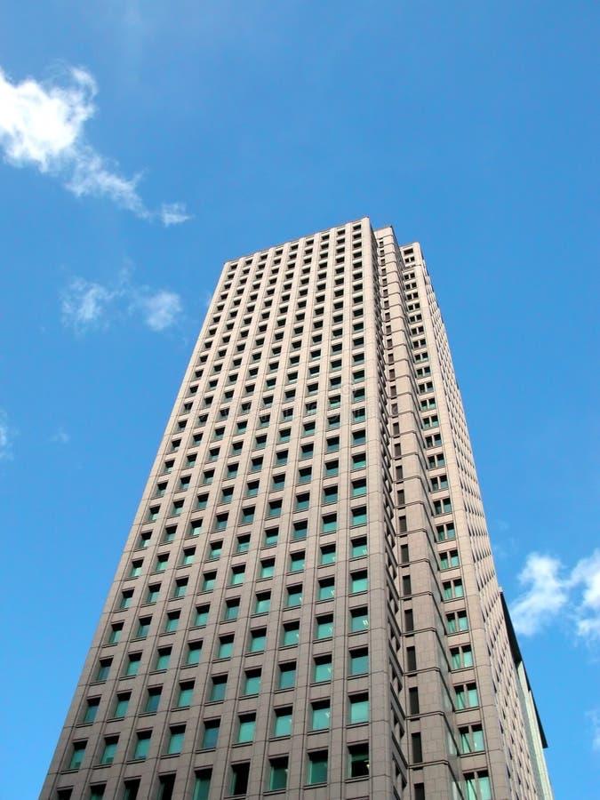 Wolkenkrabber royalty-vrije stock fotografie