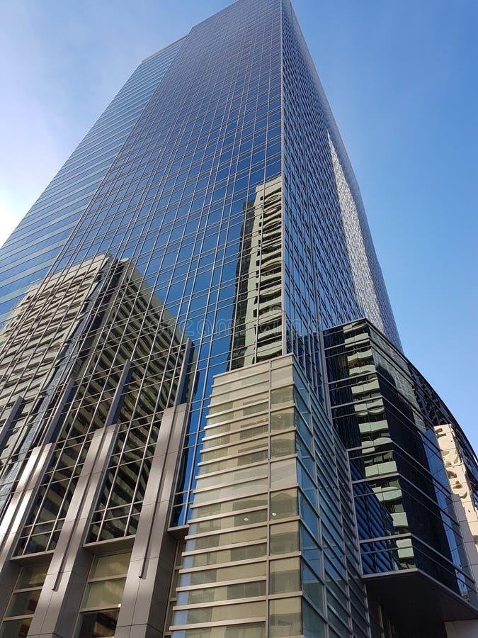 Wolkenkrabber Calgary stock afbeeldingen