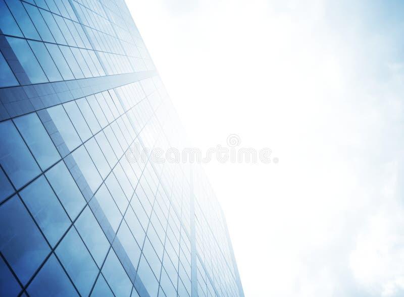 Wolkenkrabber en licht royalty-vrije stock fotografie