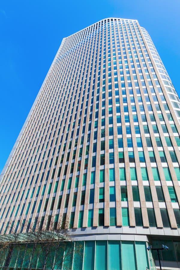 Wolkenkrabber Hoftoren in Den Haag, Nederland royalty-vrije stock foto