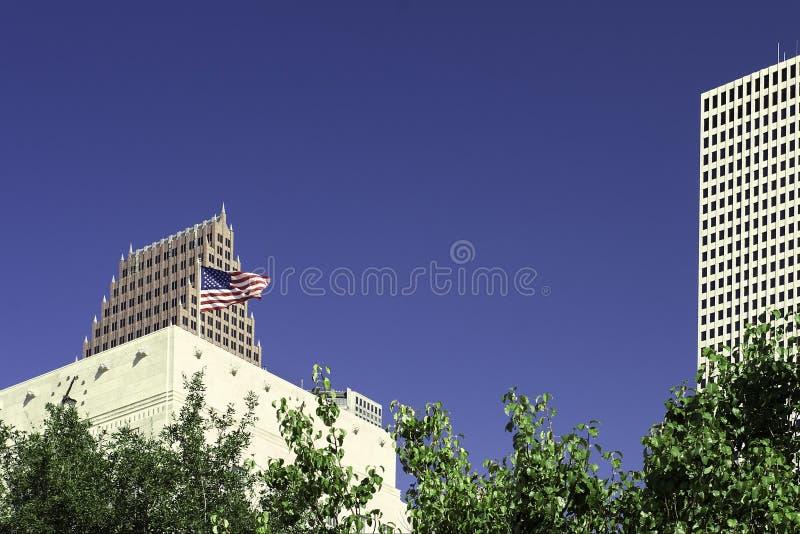 Download Wolkenkrabbers 1 Van Houston Stock Afbeelding - Afbeelding bestaande uit overheid, amerika: 286979