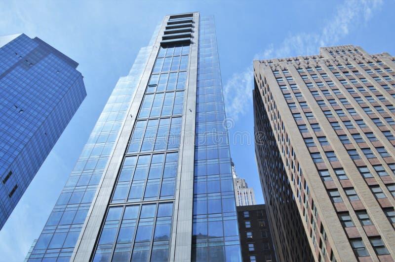 Wolkenkrabbers in de Stad van New York royalty-vrije stock fotografie
