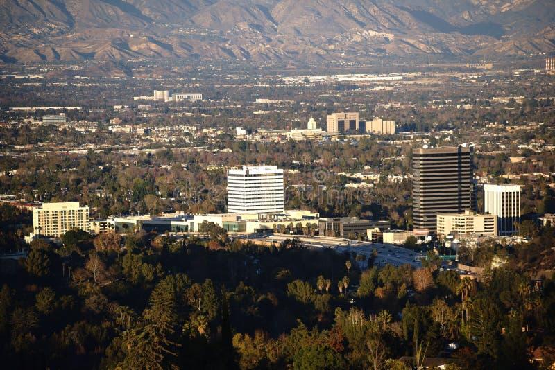 Wolkenkrabbers Los Angeles royalty-vrije stock afbeeldingen