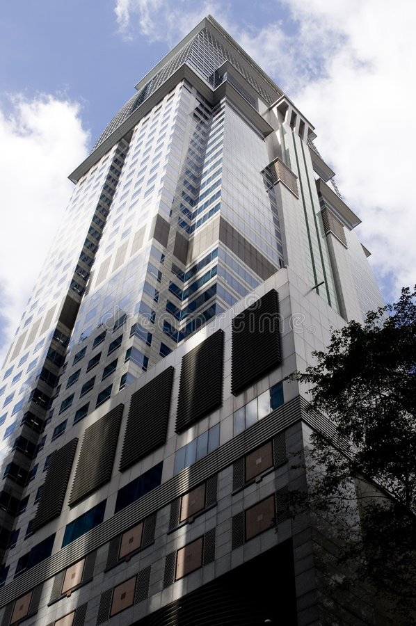 Wolkenkratzer #11 lizenzfreies stockbild