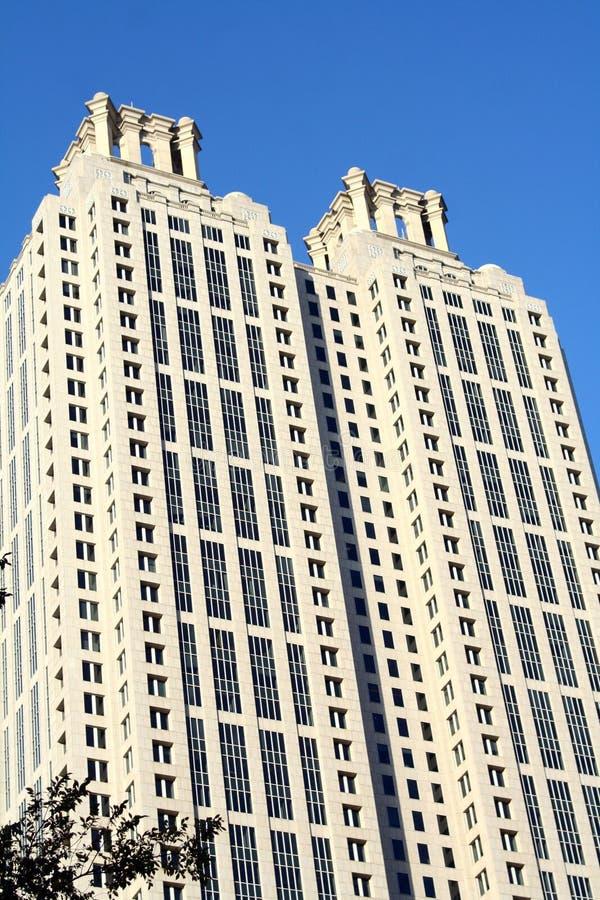Wolkenkratzer in Atlanta, Georgia lizenzfreie stockbilder