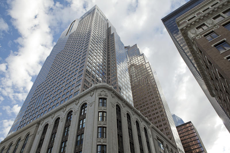 Wolkenkratzer in Calgary, Kanada stockfoto
