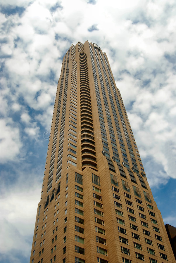 Wolkenkratzer in Chicago stockbilder