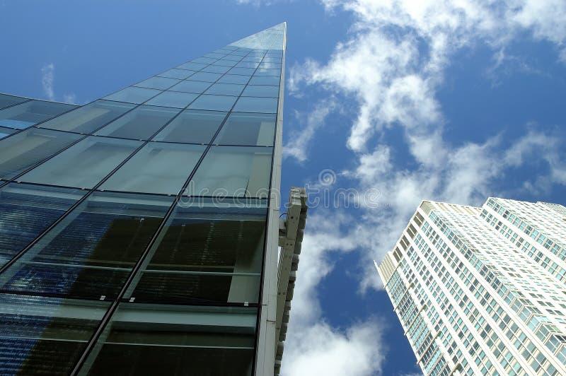 Wolkenkratzer in Chicago lizenzfreies stockfoto