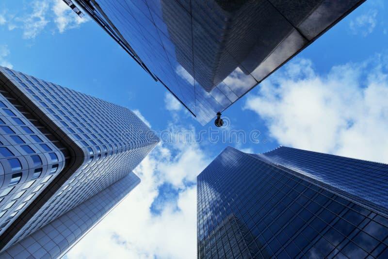 Wolkenkratzer Frankfurt stockfoto