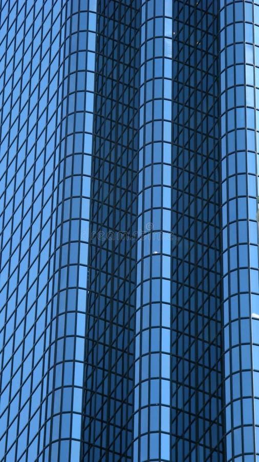 Wolkenkratzer-Gläser stockfoto