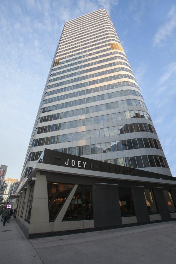 Wolkenkratzer Joey Eaton Centre Toronto, Kanada lizenzfreie stockfotos