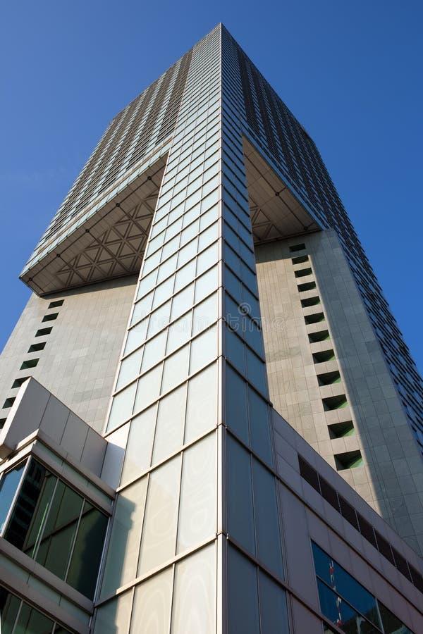 Wolkenkratzer-moderne abstrakte Architektur lizenzfreie stockfotos