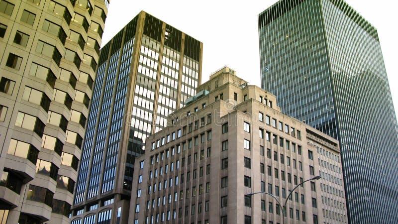 Wolkenkratzer in Montreal lizenzfreies stockbild