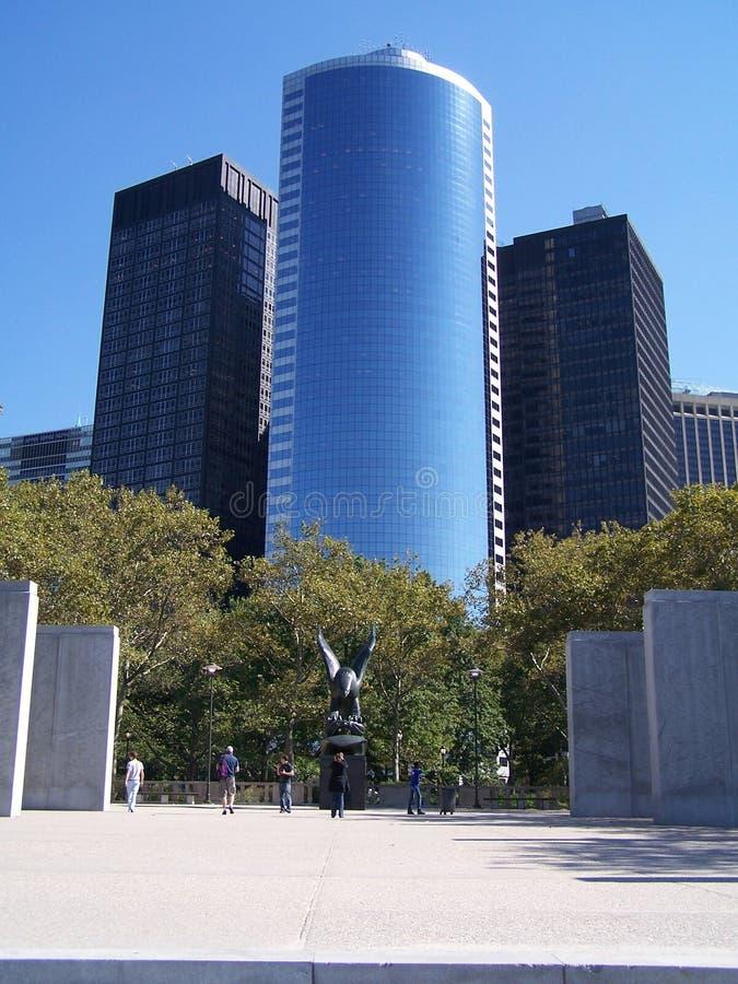 Wolkenkratzer in New York stockfotografie