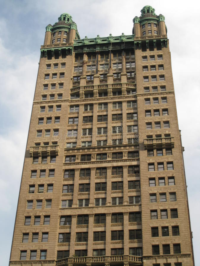 Wolkenkratzer in New York City stockfoto