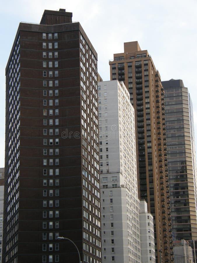 Wolkenkratzer in New York City stockfotografie