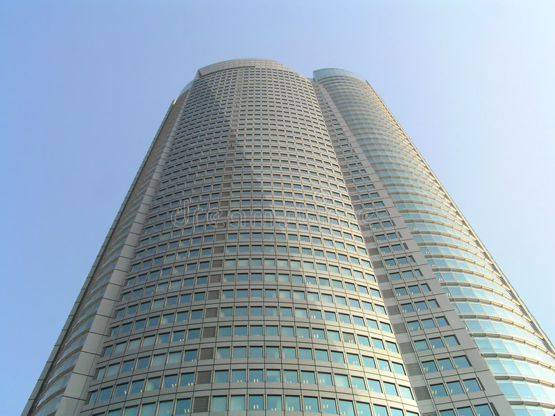 Wolkenkratzer - Roppongi Hügel stockfotos
