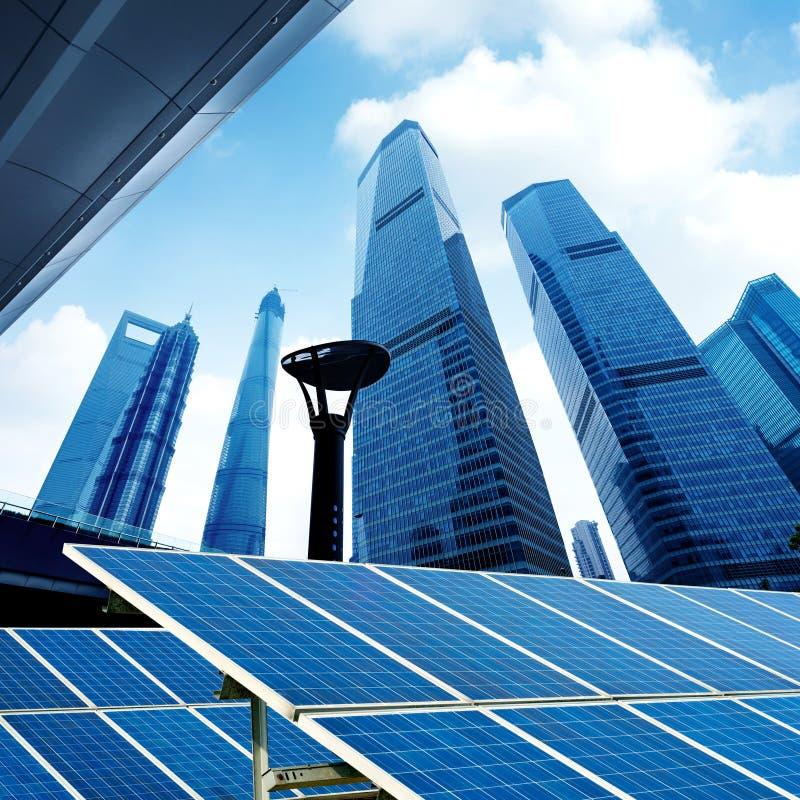 Wolkenkratzer in Shanghai, China lizenzfreie stockbilder